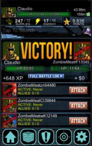 Combat Screen UZM