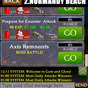 Mission Boss: Axis Remnants!