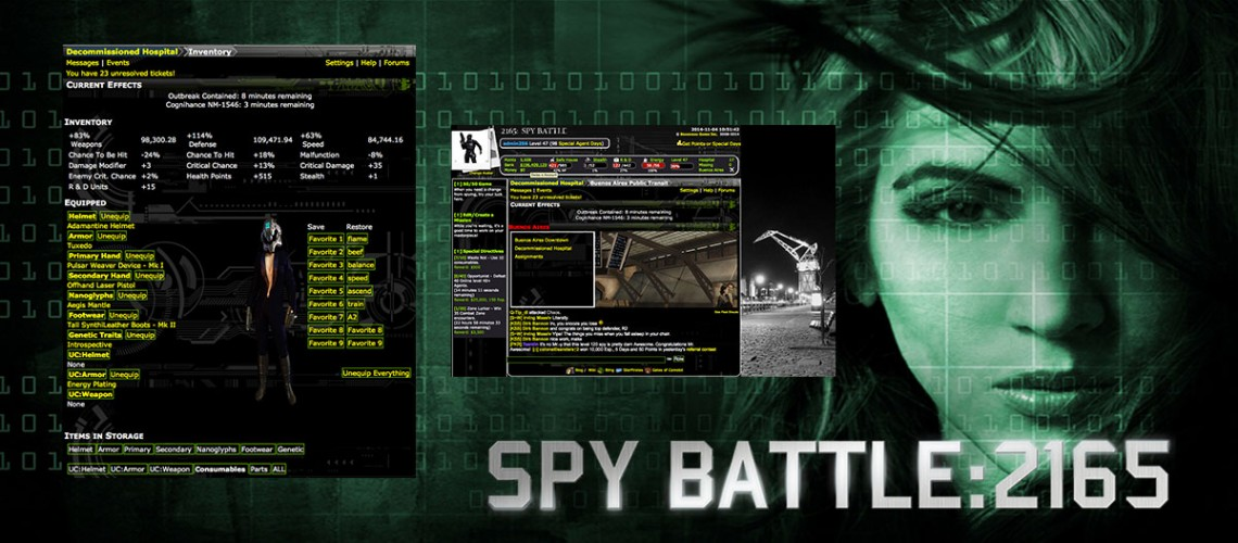 Spy Battle
