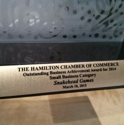 SHG is Small Biz of the Year!